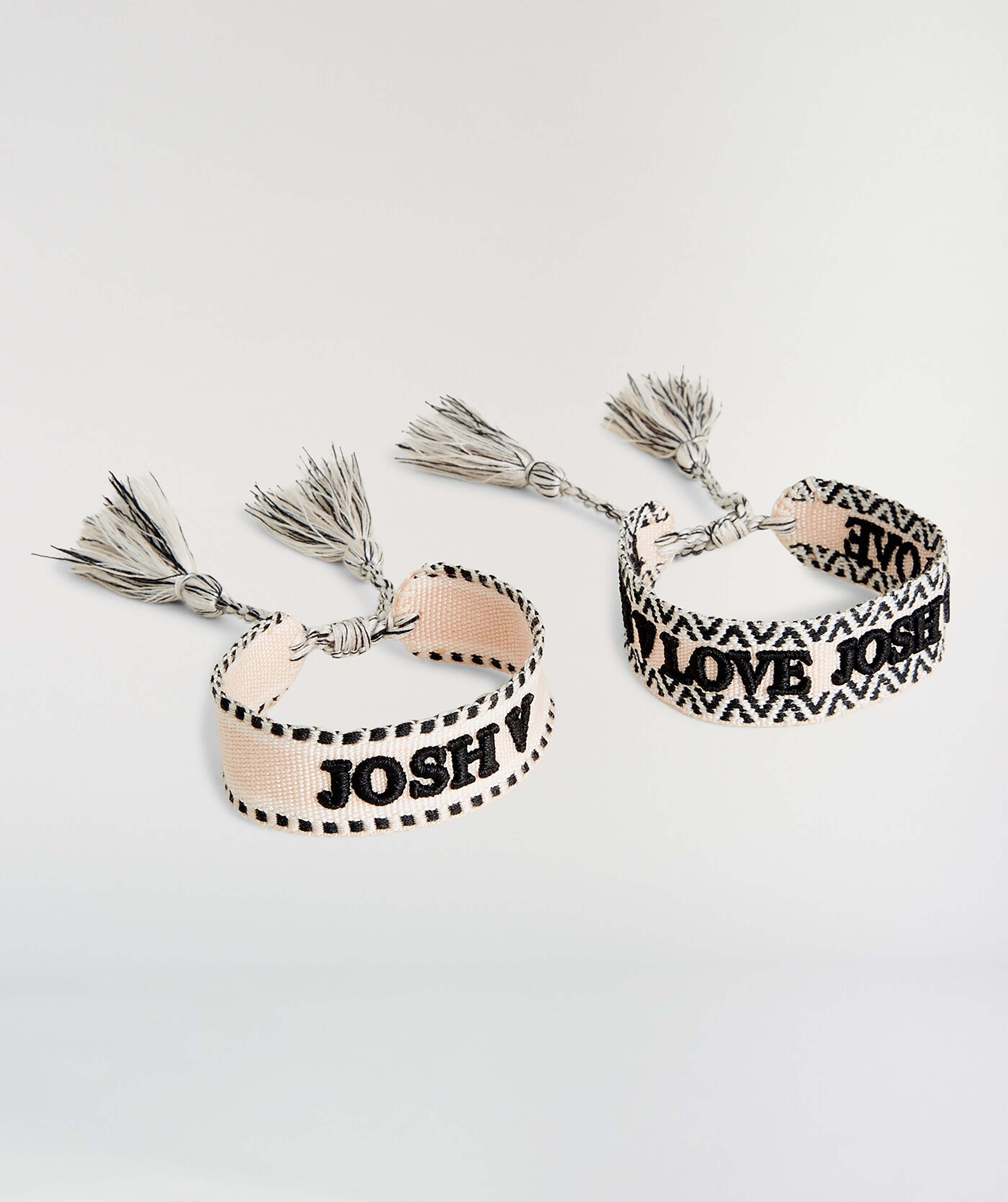 JOSH V ALLENA Armband set Blush