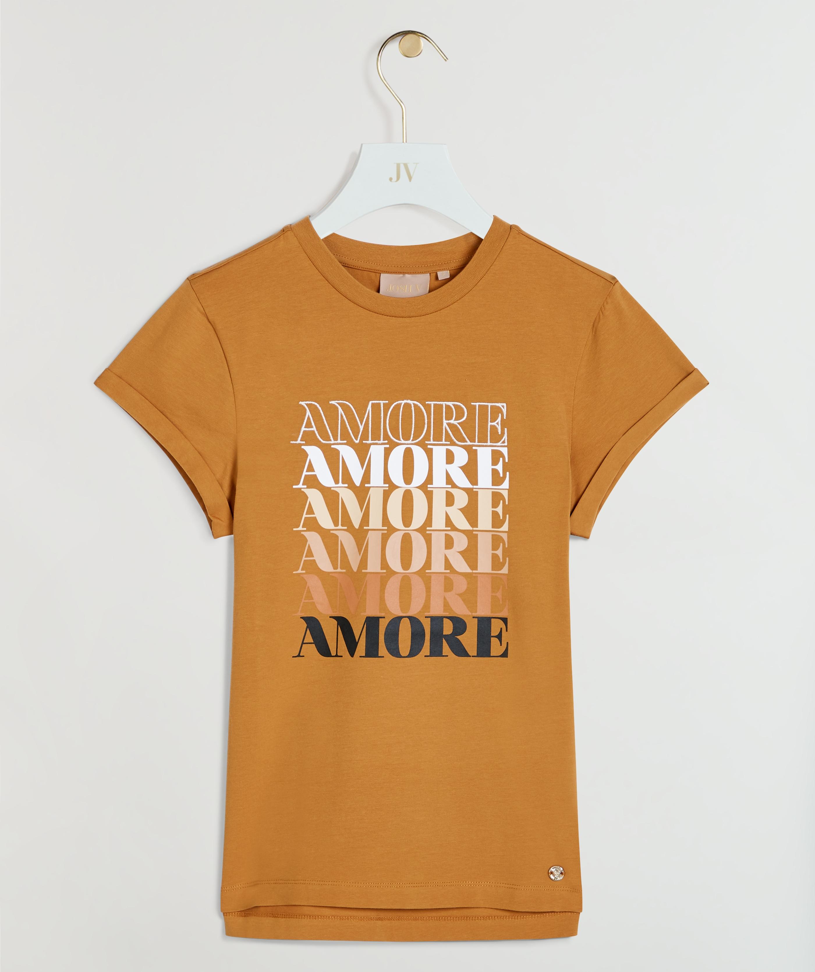 JOSH V DORA AMORE T-shirt Amber